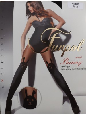 Ciorapi cu model Funpol Bunny