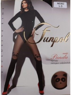 Ciorapi cu model Funpol  Panda