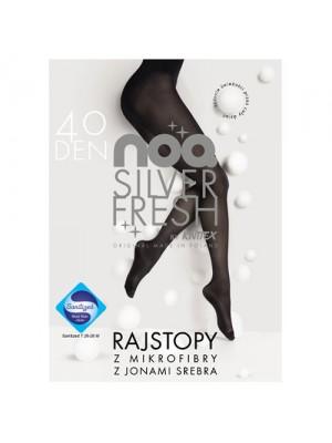Ciorapi dama cu Ioni de Argint Knittex Silver Fresh 40den