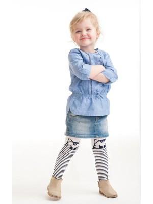 Ciorapi cu model fetite Cat