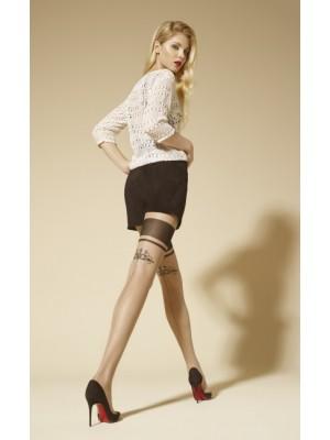 Ciorapi cu model Marilyn Allure F01