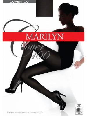 Ciorapi grosi mati Marilyn Cover 100 den