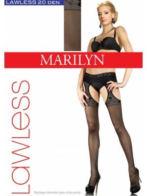 Ciorapi cu model Marilyn Lawless Sexy