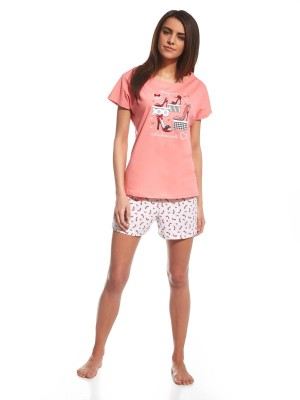 Pijama dama 3 Piese Red Shoes P665-098